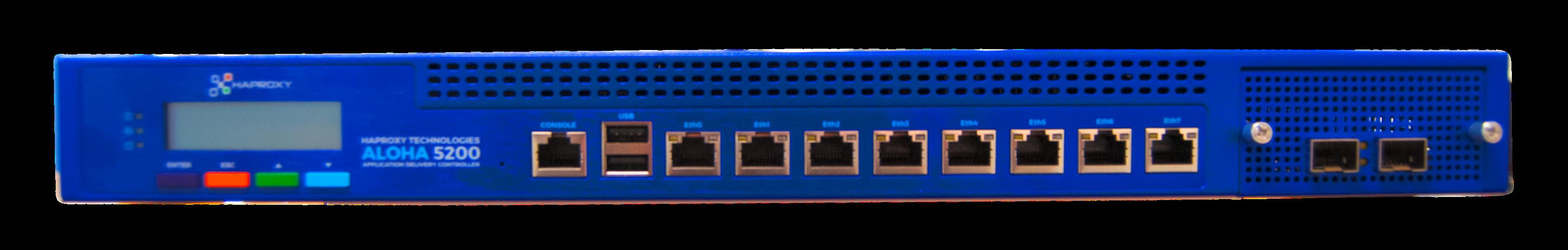 ALOHA ALB5200 Load Balancer (Front side)
