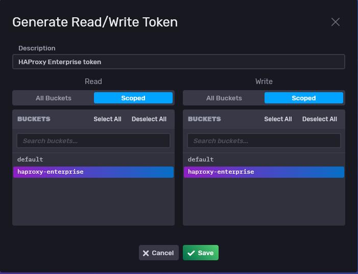 Create a token