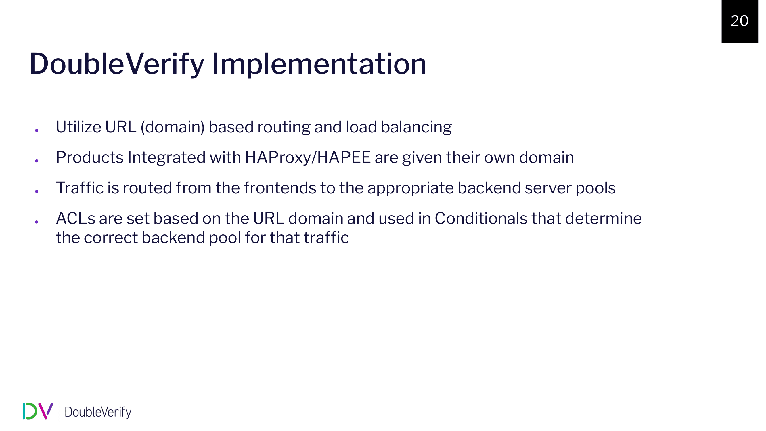 haproxyconf2019_a journey from hardware load balancers to haproxy at doubleverify_oren alexandroni_wally barnes_14
