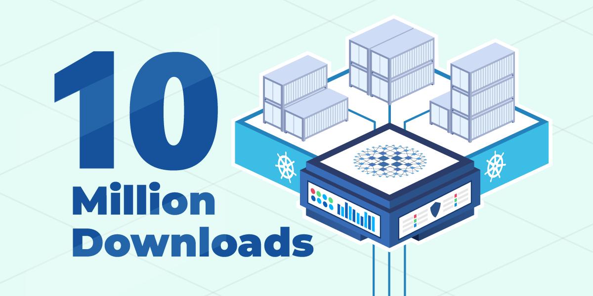 HAProxy Kubernetes Ingress Controller Reaches 10 Million Community Downloads